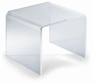 Tavolo-Tavolino-Alzatina-Plexiglass-Trasparente-35x20x6-Spessore-6-mm