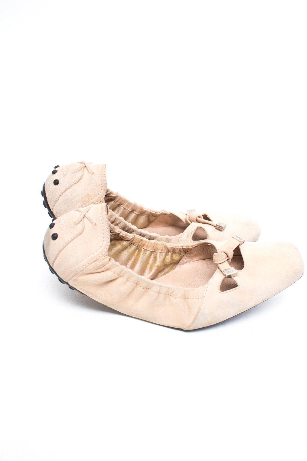 TOD´S Ballerinas Gr. EU 35 Damen Schuhe Halbschuhe schuhe Flats Leder