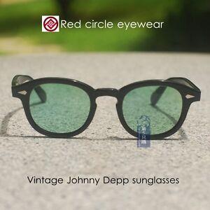 65744b6fa A imagem está carregando Johnny-Depp-retro-Antigo-oculos-De-Sol-Armacao-