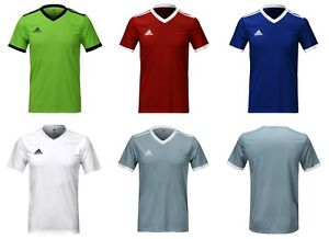Details about Adidas Men TABELA 18 Short Sleeve T Shirts Soccer Football Climalite Tee Jersey