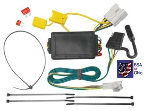 Trailer Hitch Wiring Tow Harness For Toyota Highlander