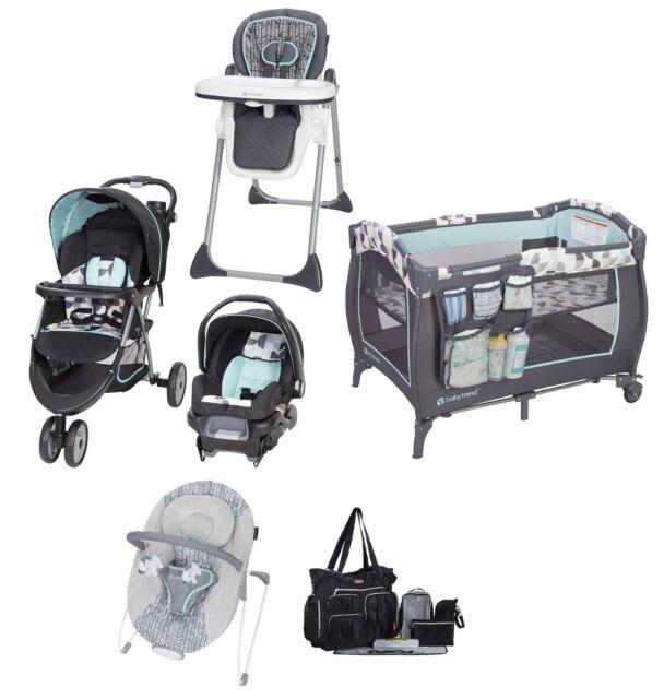 Disney Baby Set Newborn Winnie Pooh Stroller Car Seat Chair Crib