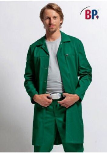 Green lab coat mot garage mécanicien hygiène food warehouse cellier fancy dress