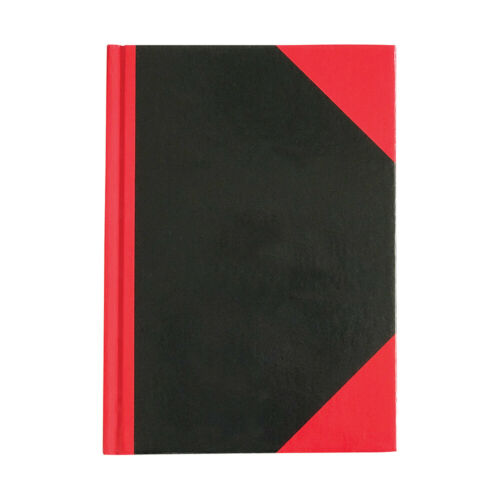 Collins Red and Black Notebook 180 x 128 mm 100 Leaf Feint
