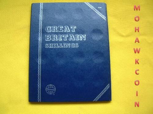 #8006 GREAT BRITAIN SHILLING BLANK NEW WHITMAN FOLDER