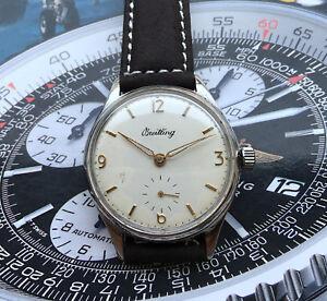 BREITLING-geneve-Vintage-men-039-s-dress-watch-37mm-039-50es