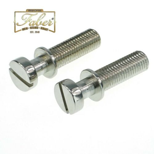 Faber TPSTMNG TP-ST-M-NG 59 Gibson Style Tailpiece Studs Nickel Gloss 3195