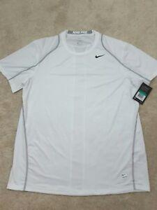 NIKE-Dri-Fit-Men-039-s-Size-XL-Shirt-White-NWT