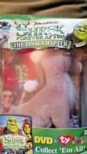 Shrek Forever After - The Final Chapter DVD With TY Beanie Baby Donkey