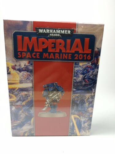 Warhammer 40.000 imperial Space marine 2016-modelo de coleccionista-nuevo embalaje original /&