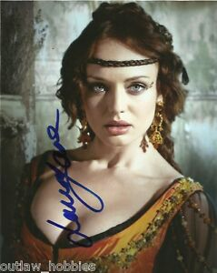 Laura-Haddock-Autographed-Signed-8x10-Photo-COA