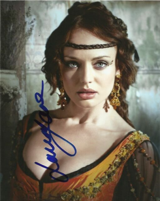 Laura Haddock Autographed Signed 8x10 Photo COA
