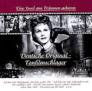 DEUTSCHE-ORIGINAL-TONFILMSCHLAGER-034-Eine-Insel-aus-Traeumen-geboren-034-CD-NEU-amp-OVP