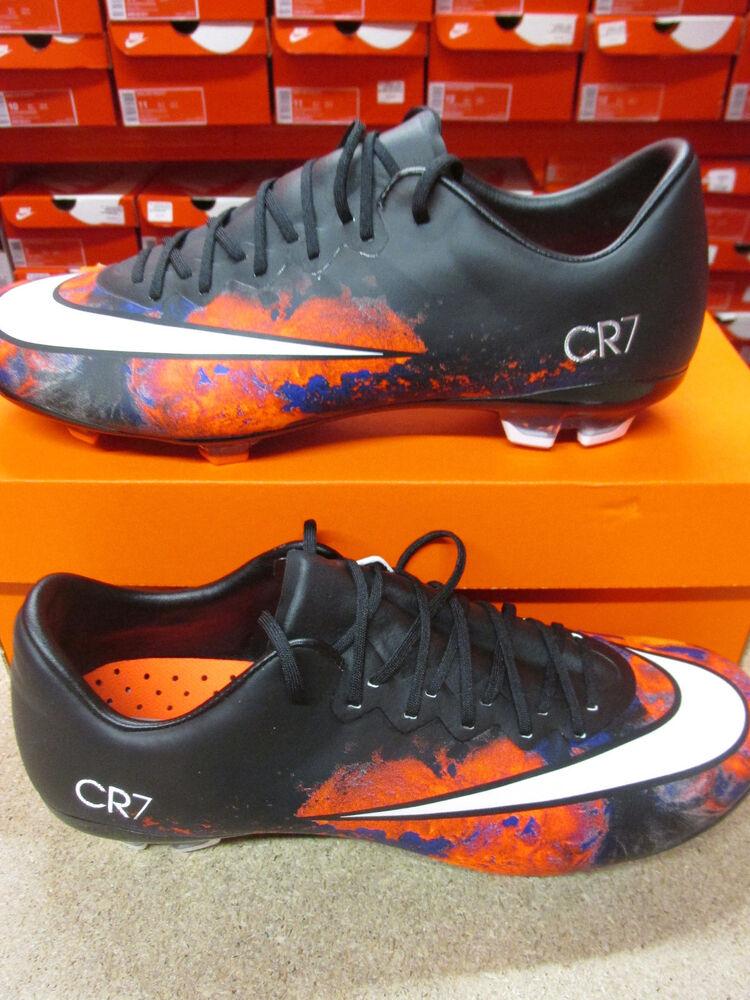 Nike Junior Mercurial Vapeur X Cr Godasses de Football Fg 684841 018 Chaussures