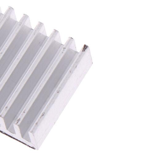 4pcs Aluminum Heatsink Radiator Cooler Kit for Raspberry Pi 4B with StickerQP