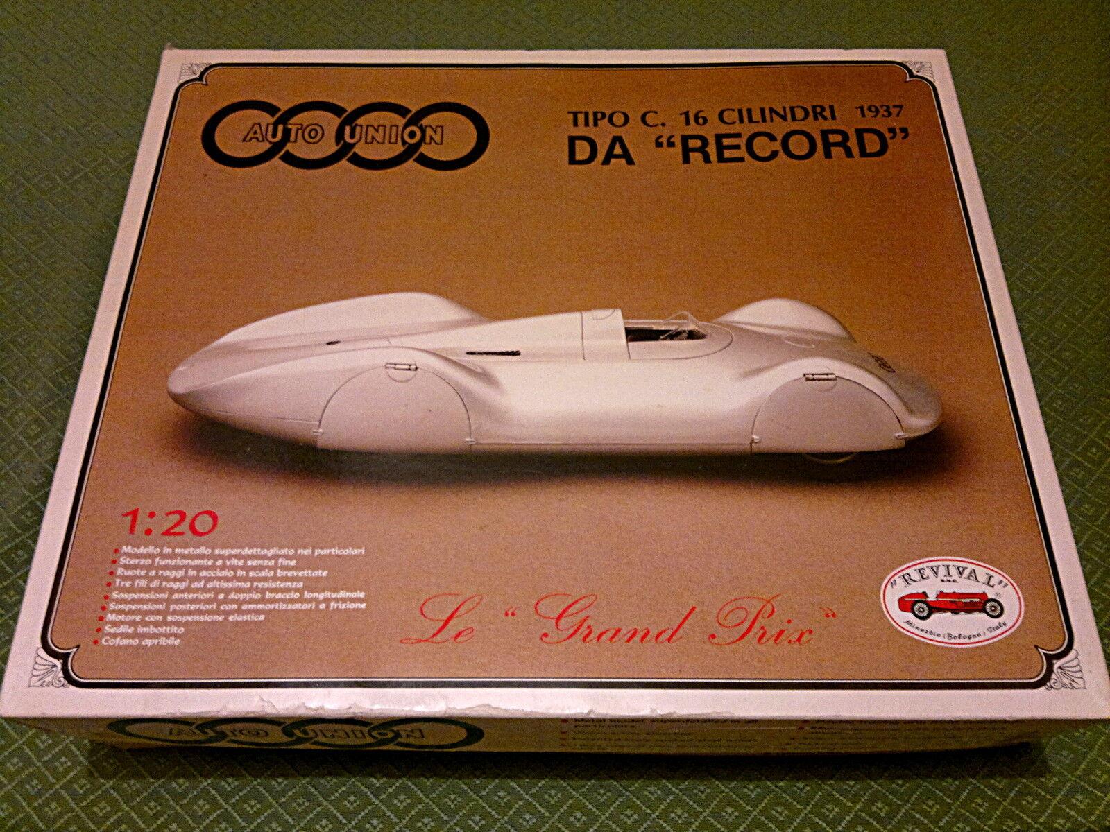 Revival Auto Union Typ C Rekordwagen 1937 Le Grand Prix Rosemeyer Titans