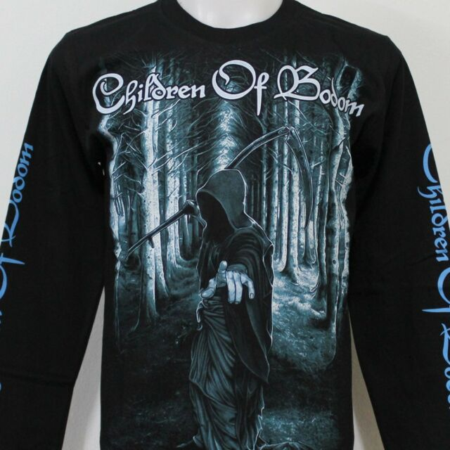 CHILDREN OF BODOM Long Sleeve T-Shirt 100% Cotton New Size S M L XL 2XL 3XL