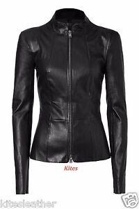 Lambskin Leather Fit Designer 27 New Napa Soft Original W For Jacket Slim Women OYnUfq