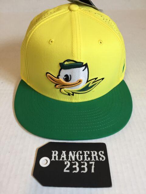 4c0a14f6a758b ... netherlands nike true oregon ducks vapor performance fitted hat cap  yellow size 7 5 8 3757b