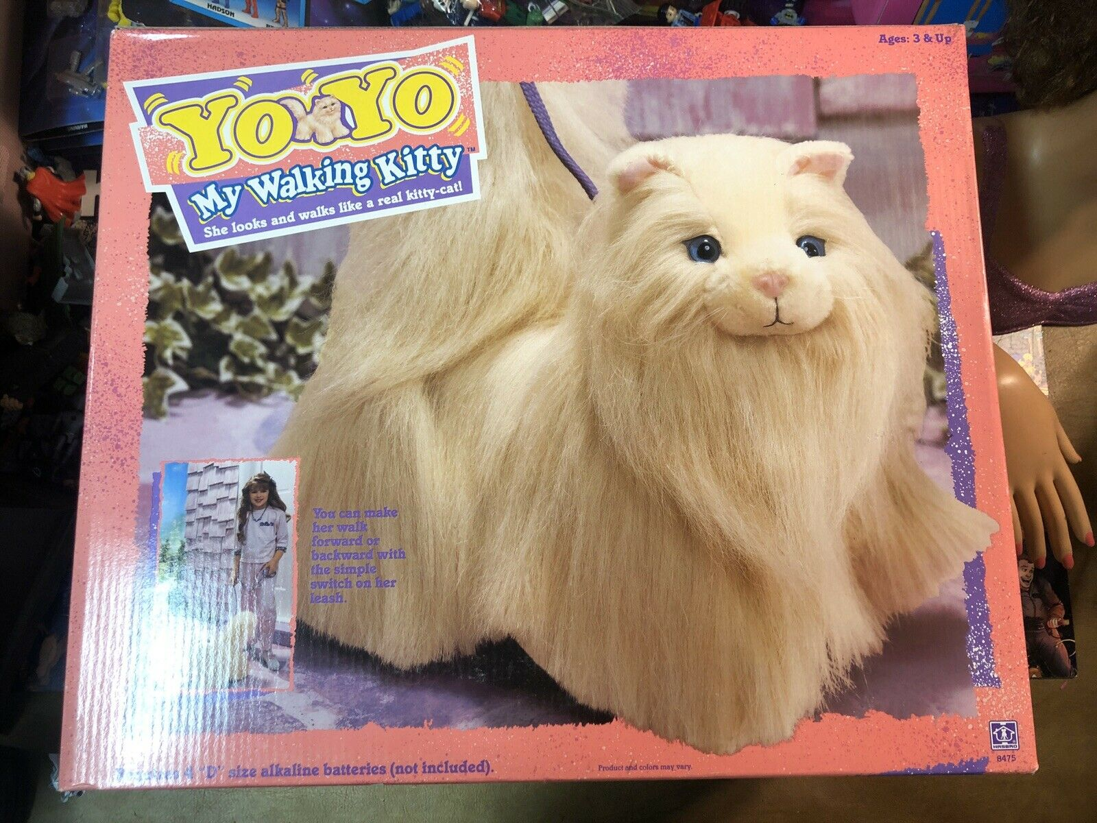 YoYo My Fußgänger Kitty Hasbro 1990 Meerled New in Box Warehaus Find