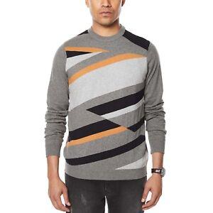 Combo 2xl Sweater tan Knit Men's Intarsia Sean John xRpnqRBz