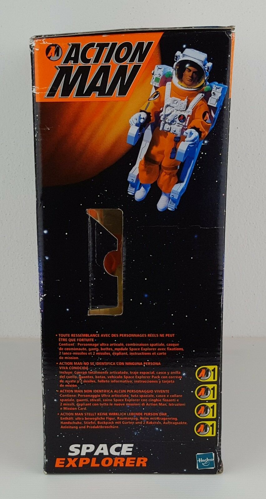 ACTION MAN ELECTRONIC ELECTRONIC ELECTRONIC SPACE EXPLORER - VINTAGE - NUOVO FACTORY SEALED a8c5b0