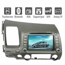 "7"" HD Car GPS Navigation Bluetooth TV Stereo Radio DVD Player  For Honda Civic"