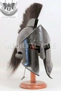Roman 300 Spartan Helmet King Leonidas Movie Replica Helmet Medieval Halloween