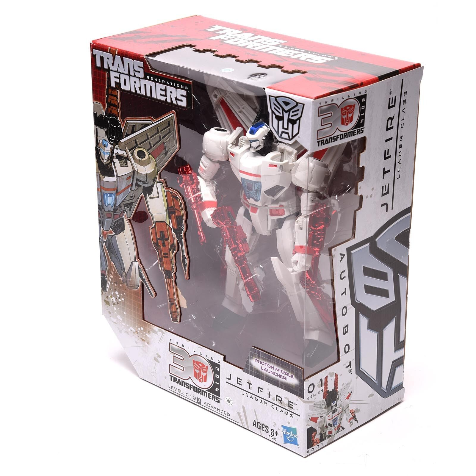 NEW Hasbro Transformers Generations IDW 30eme Anniversaire Leader Class Jetfire