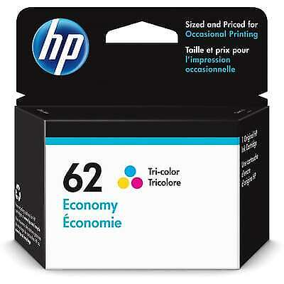 Buy Direct From HP HP 62 Economy Tri-color Original Ink Cartridge