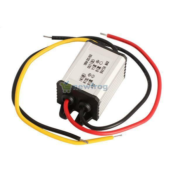 12V To 9V 2A 18W DC To DC Buck Car Charger Converter Step Down Module Adapter