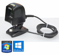 STRICHKODESCANNER BLACK DATALOGIC MAGELLAN 1000i WITH USB FOR WIND XP 7 8 10 BS2