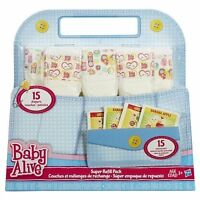 Baby Alive Doll Food And Diapers Super Refill Pack - 30 Pieces