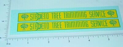 Structo Tree Trimming Bucket Truck Stickers      ST-079
