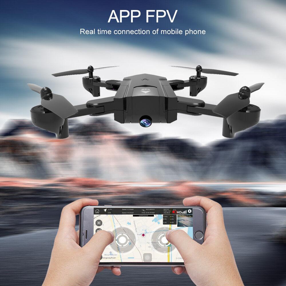 SG900 2.4G GPS Cuadricóptero Drone con Cámara FPV 1080P HD cámara de gran angular 120 °