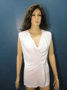 XL-white-stretchy-asymmetrical-blouse-by-KAREN-KANE