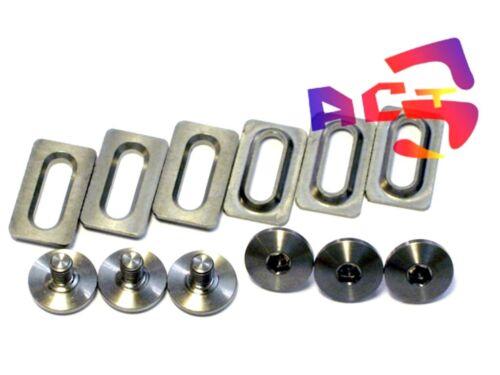 11 Shimano Road Pedal SPD-SL Cleat SM-SH 10 Titanium // Ti Bolts /& Spacers 12