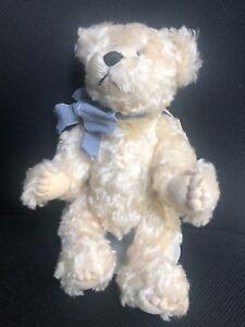 Teddy-Bear-Created-by-Carolyn-Lamothe-Cream-Mohair-Jointed
