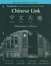 Workbook: Homework & Character Book, SIMPLIFIED VERSION, Tian, Weizhong, Wu, Sue