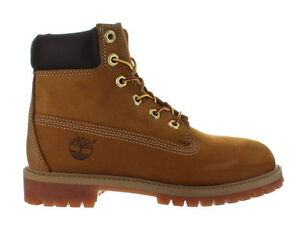 Image is loading Kids-Timberland-6-Inch-Premium-Waterproof-Boot-Wheat-