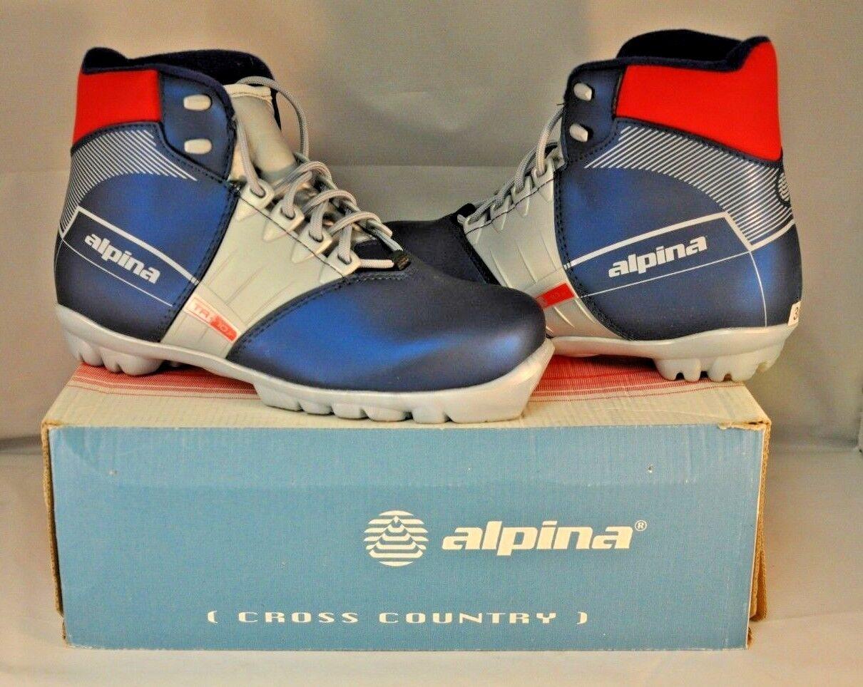 Alpina **NEW** TR10 Jr Nordic Ski Stivali - 36EU/5.5US