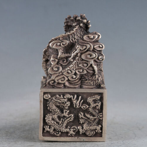Tibetan Silver Ancient Chinese Imperial Seal