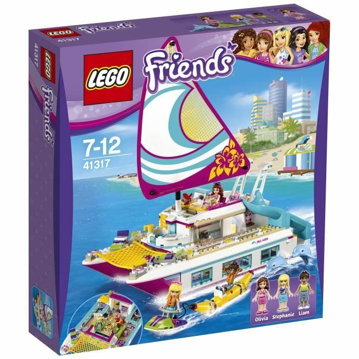 LEGO® Friends 41317 Le Catamaran
