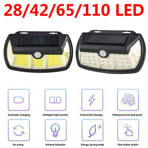 Solar-Powered-Wall-Light-Body-Induction-Security-Lights-Outdoor-Garden-Yard-Lamp