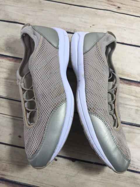 Easy Spirit Womens Beige Size 8.5 N Narrow Casual Slip On Shoe Outdoor Wear