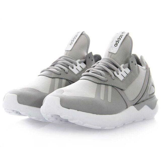 best selling super cheap dirt cheap NEW* Adidas Men's Shoes Tubular Runner B41275 Grey White mens shoe size NIB