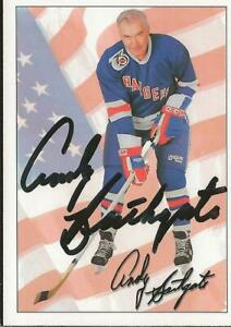 Andy-Bathgate-1992-Ultimate-Autograph-74-Rangers