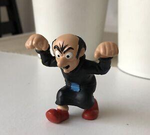 Smurf-Vintage-figure-toy-doll-Schleich-Peyo-Gargamel-Hands-Up-1993-Schleich-Toy