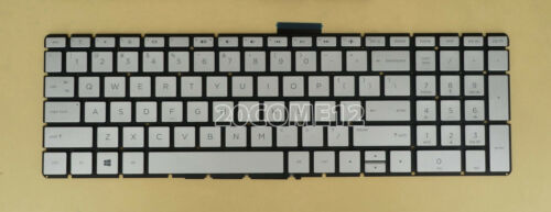 For HP 15-cd042nr 15-cd051nr 15-cd072cl 15-cd072nr 15-cd076cl Keyboard US Silver