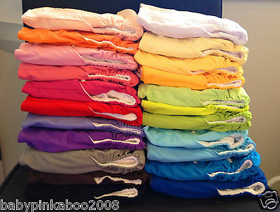 New 23 x Baby Cloth Nappy covers NO INSERTS
